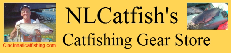 BIG CATFISHING ROD BENDING ACTION